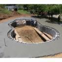 "3.5"" Poly Plastic Flexible Concrete Form FF3550 50ft Roll"