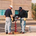 Ground Hog C-71-5-Gas Two Man Earth Drill