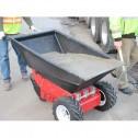 Poly Tub Attachment for Power Pusher E-750 Electric Wheelbarrow by NuStar